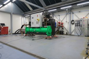 FACTORY PERFORMANCE TEST ON KTK TURBOCOR CHILLER WITH R513A LOW GWP REFRIGERANT